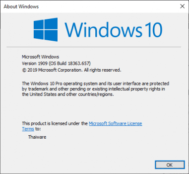 windows10 Version1809